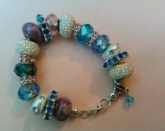 Handmade Rhinestone Bracelet