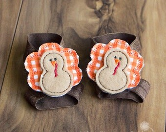Baby Barefoot Sandals with Turkeys, Interchangeable Barefoot Baby Sandals, Turkey Barefoot Sandals, Thanksgiving Baby Shoes, Elastic Shoes