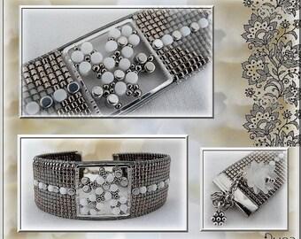 """Schéma bracelet Loom """" Janice"""""""