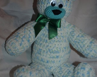 Big crocheted Teddy Bear