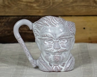 Vintage Cup - Colonel Sanders -  Kentucky Fried Chicken - Coffee Mug with Cane Handle