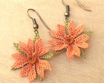 Turkish OYA Lace - Earring - Cosmos *2colors