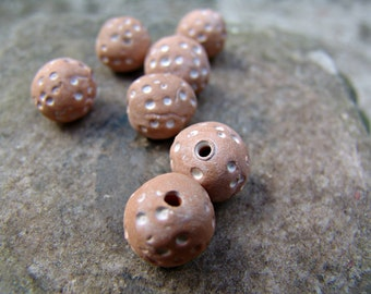 Ceramic beads in handmade, ceramic beads, terrakota beads
