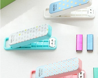 Mini Sweet Pastel Stapler | Back to School | Desk Supplies | Kawaii Stationery
