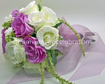 ADRIANA, Silk Flowers, Bridal Bouquet, Wedding accessories and decorations.