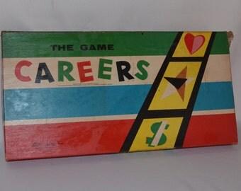 Vintage Board Game - Careers - 1958 Parker Brothers