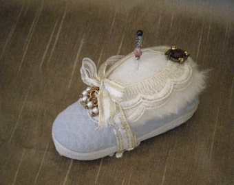 Baby Bootie Pin Cushion