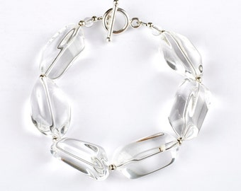 Mirage - bracelet of Rock Crystal