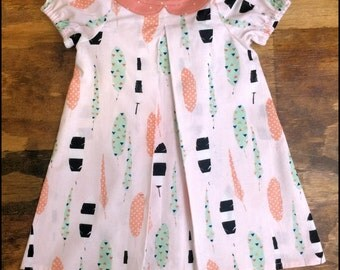 Feather Dress- 3T