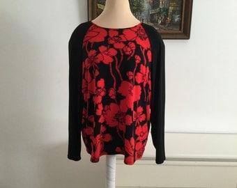 Oversize Plus Size Wide Tunic Top Sizes 3XL-4XL-5XL boho, Lagenlook, Plus Size Clothing trendy plus size clothing