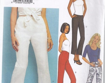 Misses' Pants Pattern -  2000s