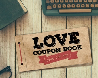 SIX Additional Custom Coupons for Love Coupon Book