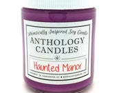 Haunted Manor Candle - Whimsically Inspired Candle, Scented Soy Candle, 8 oz Jar
