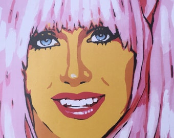 SUZANNE SOMERS art print