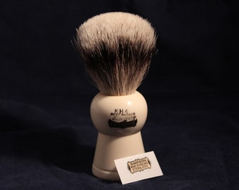 "Shaving Simpsons Keyhole ""KH4"" Somerset Best Badger Shaving Brush Badger our"