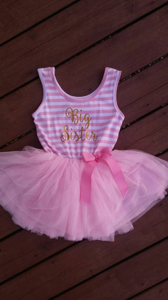 foto de Big Sister Dress attached foofy tutu skirt