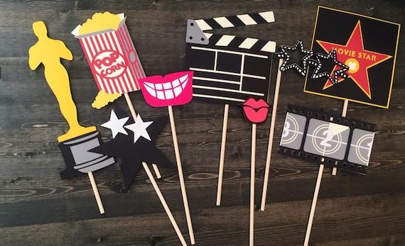 Items similar to oscar party props movie theme birthday for Award decoration