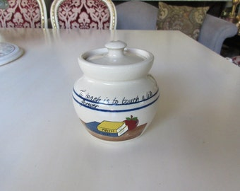 TEXAS YESTERYEARS TEACHER Canister with Lid