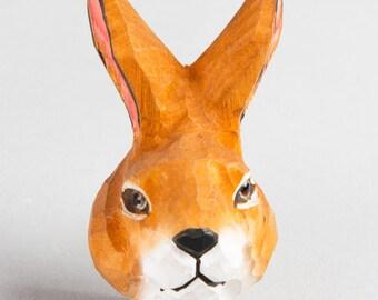 Bunny Drawer Knob, Rabbit, Hare, Woodland Animal