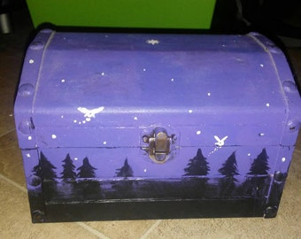 Fairy themed jewelry box