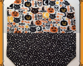 Halloween Folklore Reversible Placemats/Set of 4