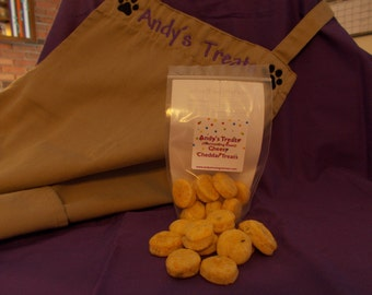 Chessy Cheddar Treats - Gourmet Dog Treats