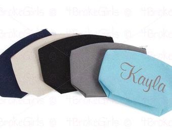 Cosmetic Bag, Personalized  Makeup Bag  Travel Bag  Makeup Tote  Cosmetic Bag  Toiletry Bag  Wedding  Bridal Party Gift