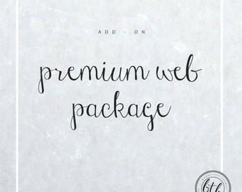 Premium Web Package
