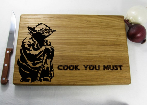 Items Similar To Star Wars Yoda Cook You Must Jedi Cutting