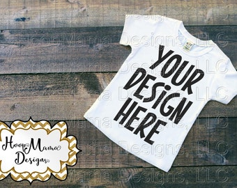 MOCKUP White Shirt, Instant Download, Commercial Use OK, Mock Up for Design Display