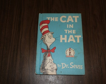 The Cat in the Hat by Dr. Seuss (1957, Hardcover)
