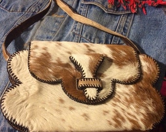 Sale 1970s Pony hair purse