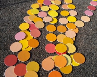 Paint Chip Dot Garland - Firewalk 1