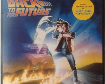 Back to  the  Future, Music FromThe MotionPicture  Sound Track, VINYL RECORD LP