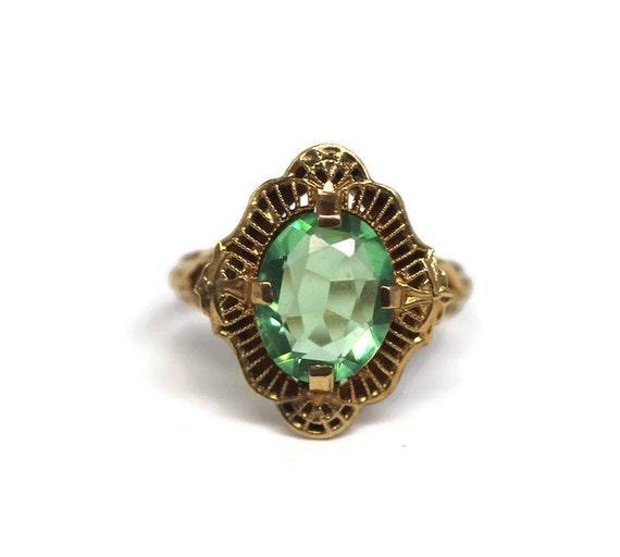 K Psco Gold Ring
