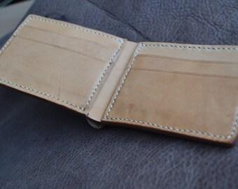 Bifold wallet, Handmade from Italian calf leather