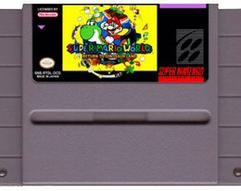 Super Mario World Return to Dinosaurland (SNES Repro)