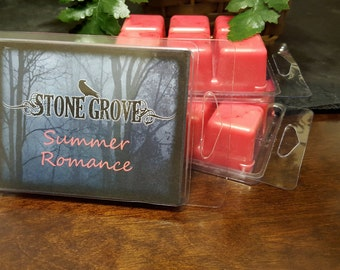 Soy Wax Melts, Summer Romance