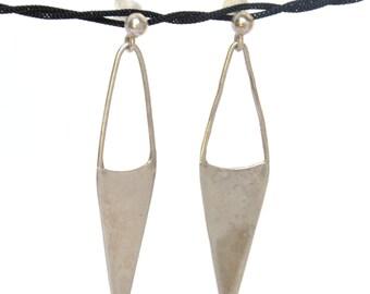 Inverse Triangle Earrings