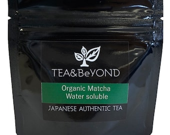 Traditional Blend ORGANIC MATCHA Water soluble Japanese Matcha Green Tea 40g