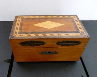 Small Wooden Money Box 80x145x75mm