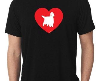 Love English Setter T-Shirt v2 llewellyn T871