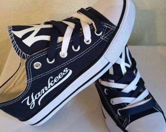 New york yankee's tennis shoes please read description before purchasing