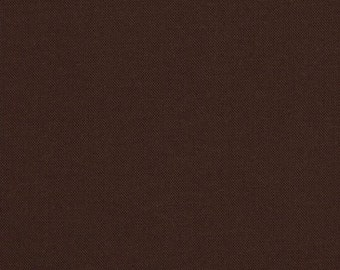1/2 Yard Chocolate brown - Robert Kaufman Kona cotton chocolate brown HALF YARD