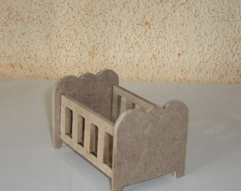Cot miniature diorama, roombox or other applications
