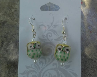 Hoo goes there earrings