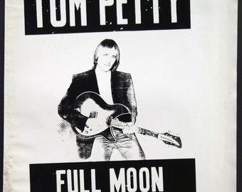 Tom Petty & The Heartbreakers 'Full Moon Fever'  original production artwork, 1989