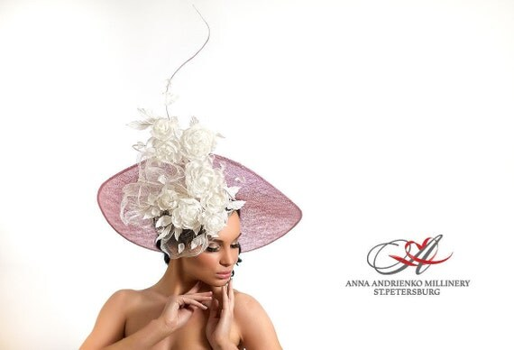 Royal Ascot Horse Race Hat Wide Brim Fascinator Melbourne