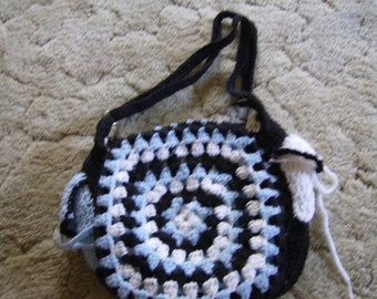 different colors of blue purse