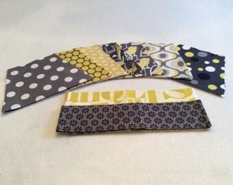 Grey/Yellow Tumbler Quilt Kit
